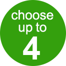 choose up to 4