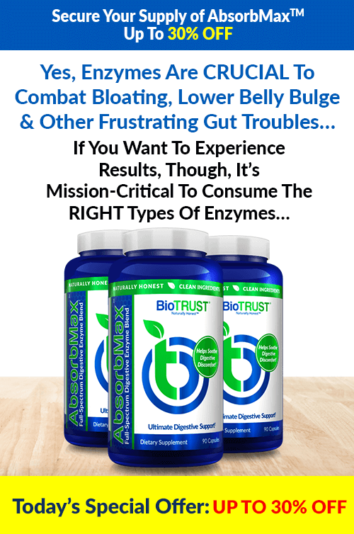 Yes, Enzymes are Crucial