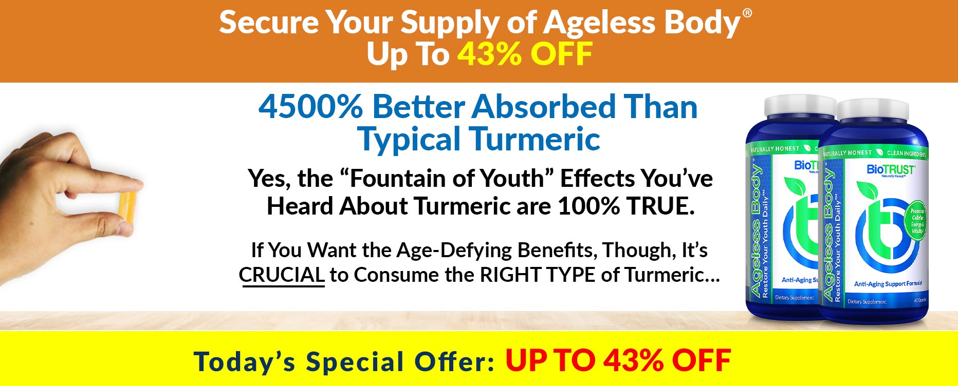 Secure Your Supply of Ageless Body