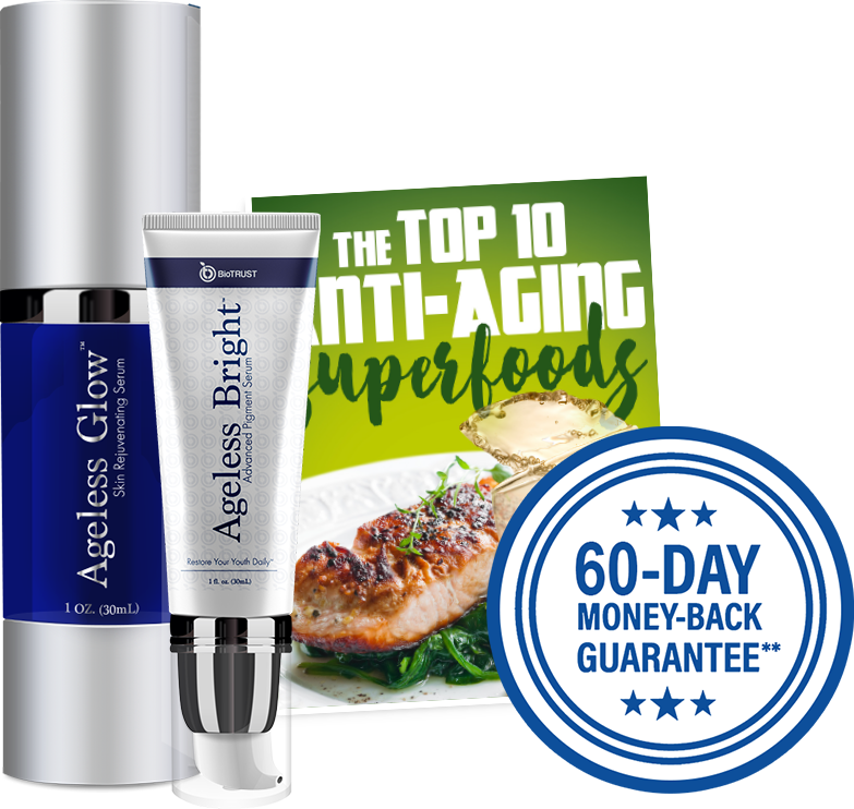 Special Bonus Offer: Ageless Glow, Ageless Bright and Top Anti-Aging Superfoods ebook