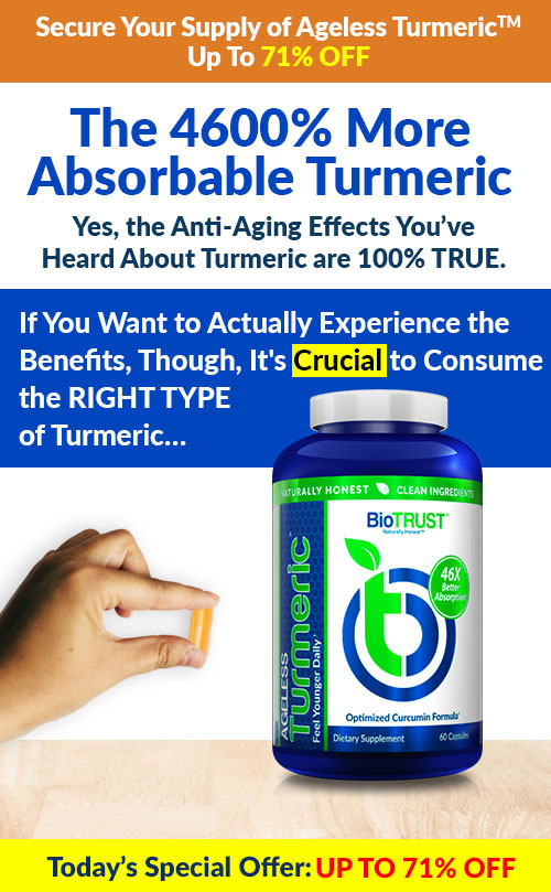 Secure Your Supply of Ageless Turmeric