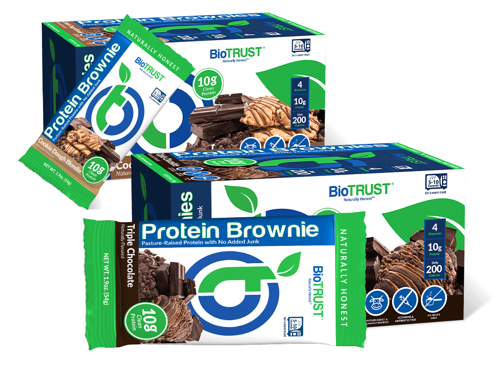 BioTRUST Protein Brownies 2 flavors