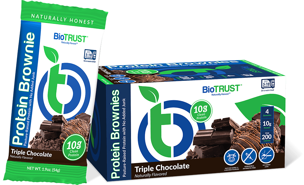 BioTRUST Protein Brownies Triple Chocolate