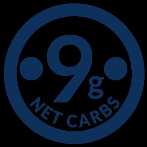 9 Grams Net Carbs