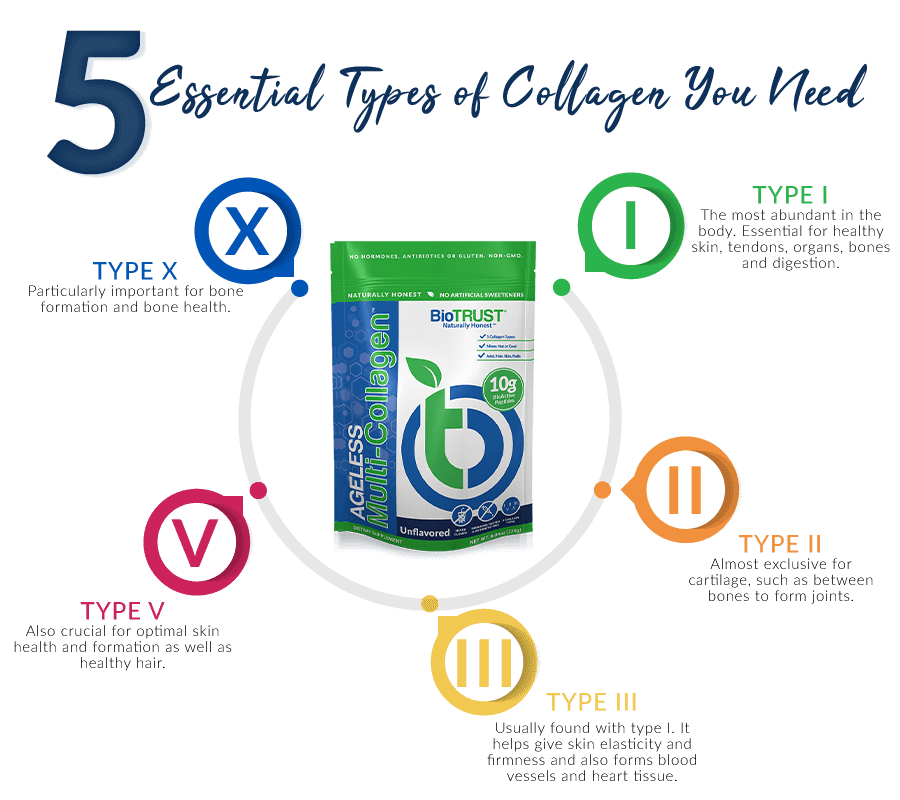5 Types of Collagen
