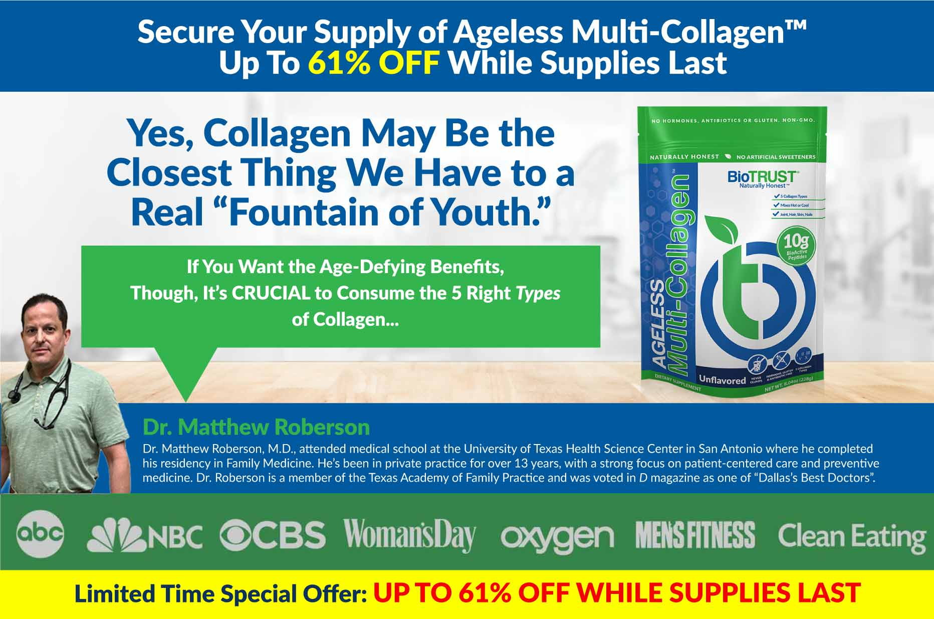 Ageless Multi-Collagen - 61% Off