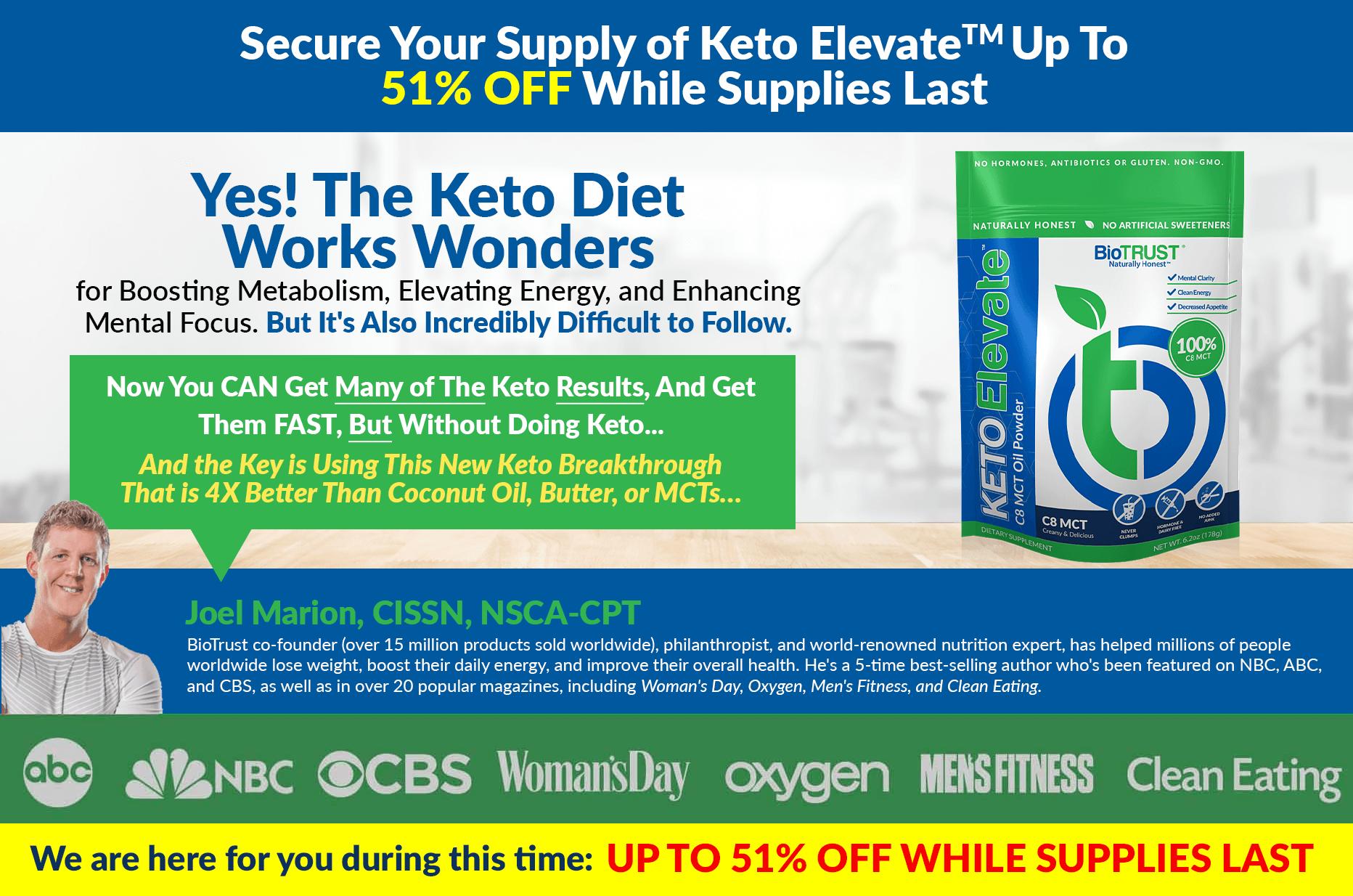 Yes! The Keto Diet Works Wonders