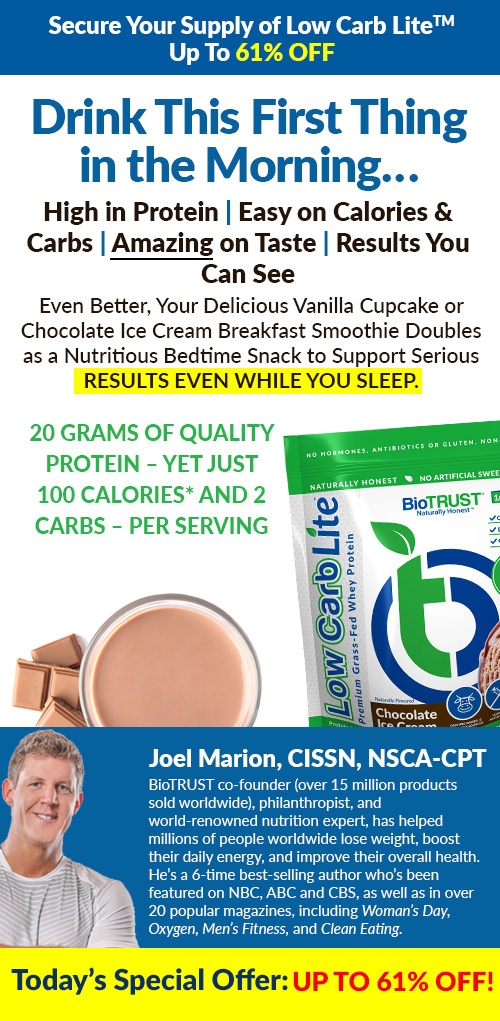 Secure Your Supply of Low Carb Lite