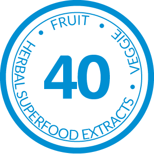 40 Fruit, Veggie, and Herbal Superfood Extracts