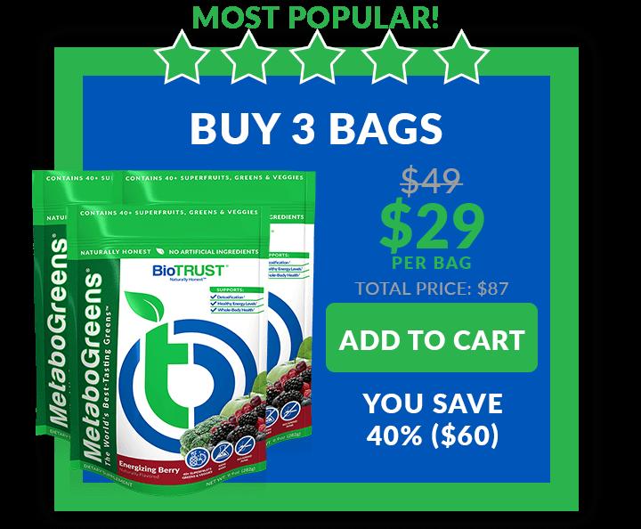 MetaboGreens - Buy 3