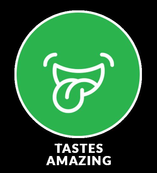 tastes amazing