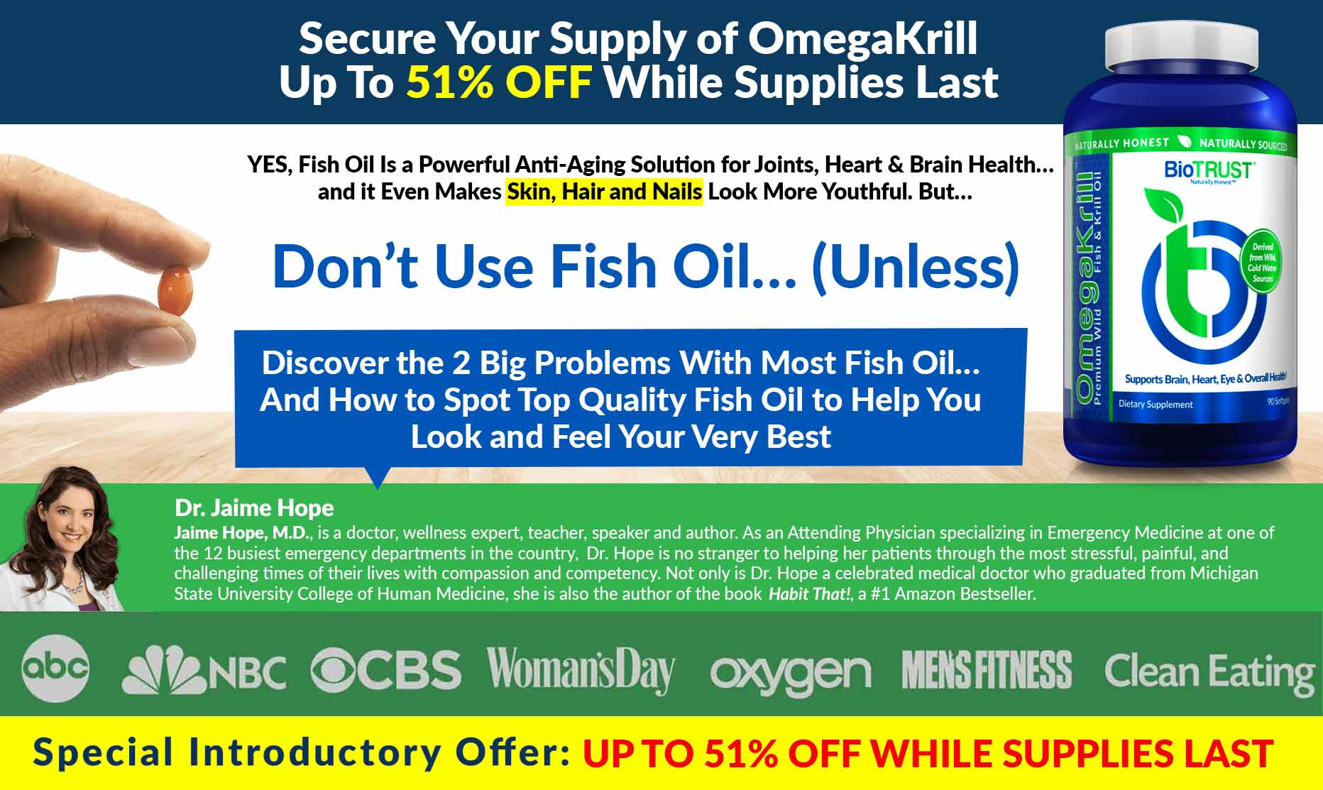 While Supplies Last - OmegaKrill