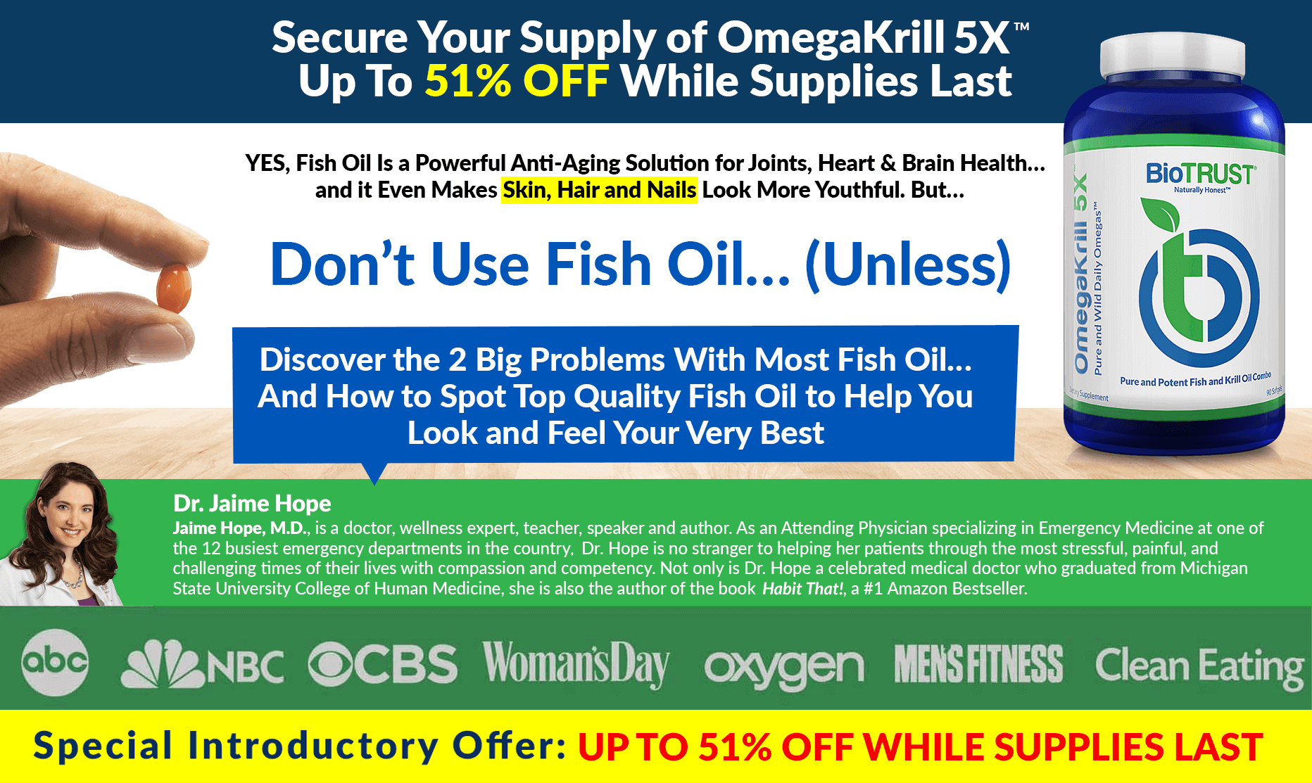 While Supplies Last - OmegaKrill 5X
