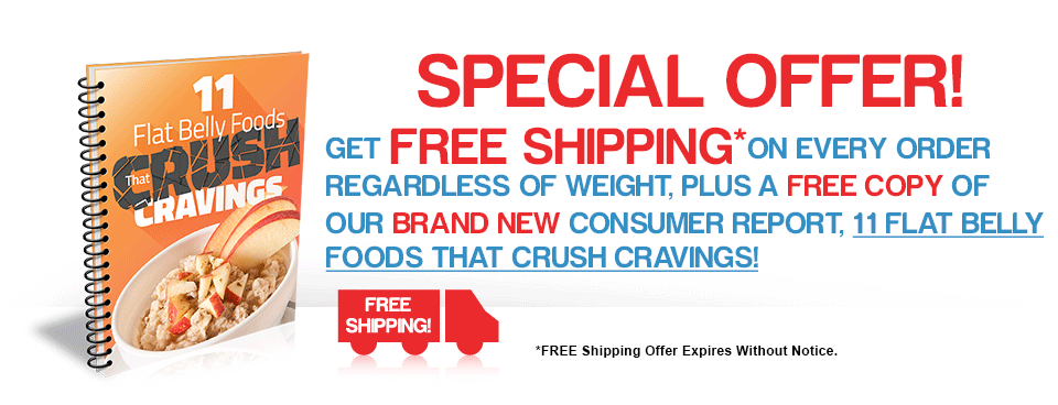 11 Flat Belly Foods that Crush Cravings Report Free Shipping