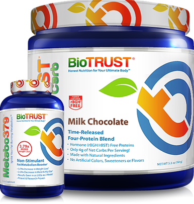 BioTrust Low Carb Milk Chocolate Protein and Metabo379