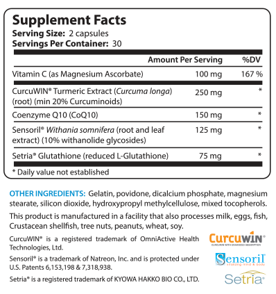 Ageless Body Supplement Facts