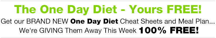 The One Day Diet - Yours Free