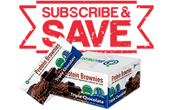 Protein Brownies - 1 Box Ship-N-Save